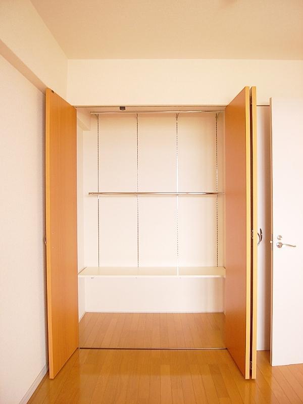 収納スペースはそれぞれのお部屋にしっかりあります