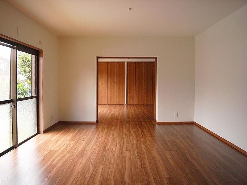 一階のお部屋は全て縦並びです