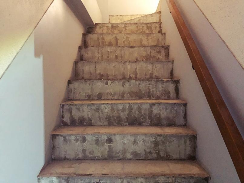 階段まで徹底的にズル剥け。イジり甲斐しかない。