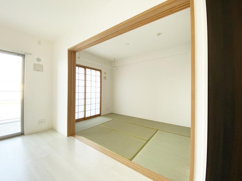 リビング横の和室