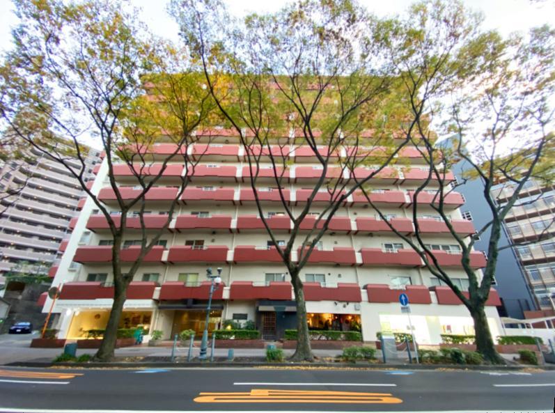 赤坂、真っ白に緑のある部屋 (福岡市中央区赤坂の物件) - 福岡R不動産