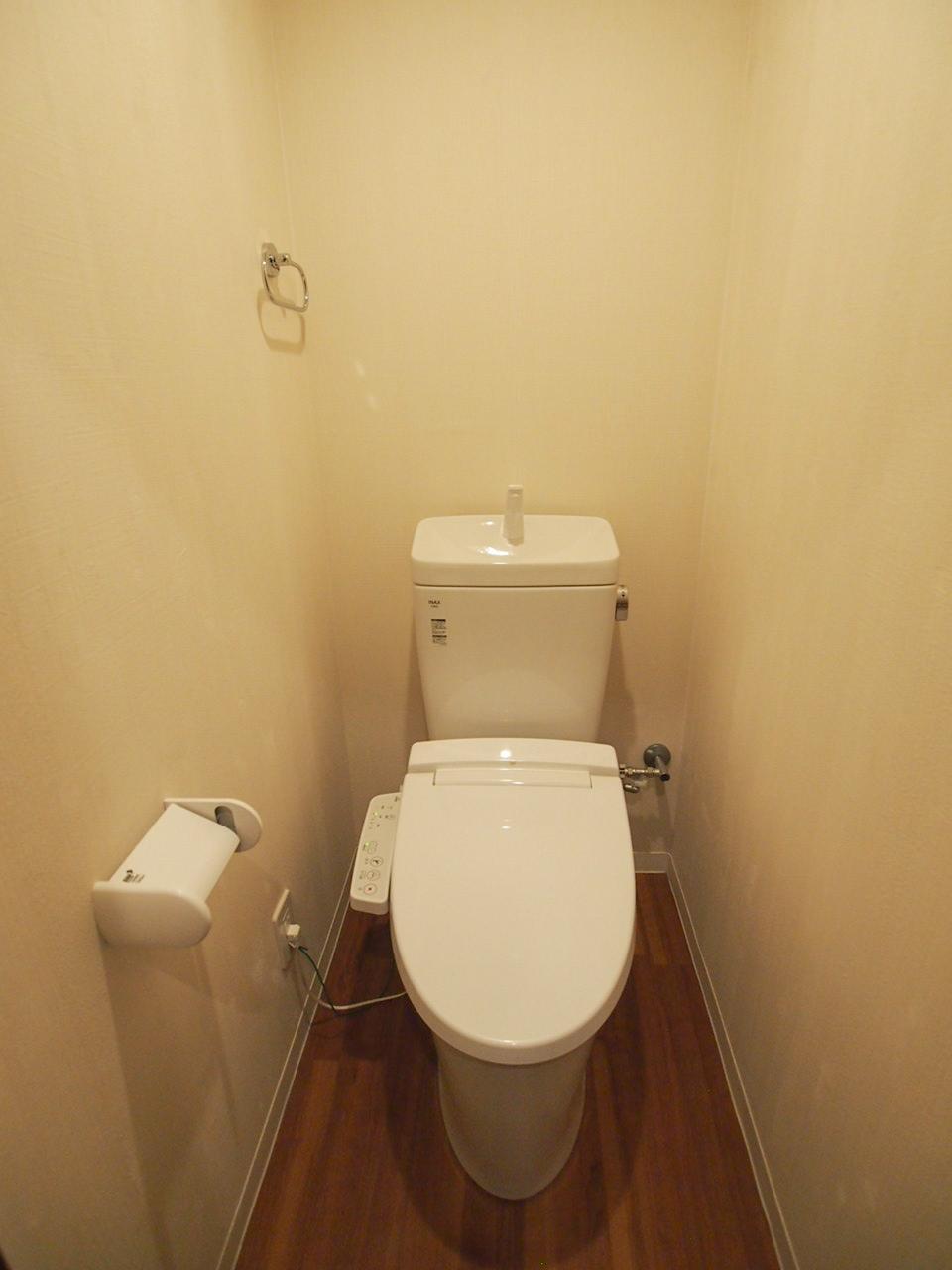 トイレもピカピカ