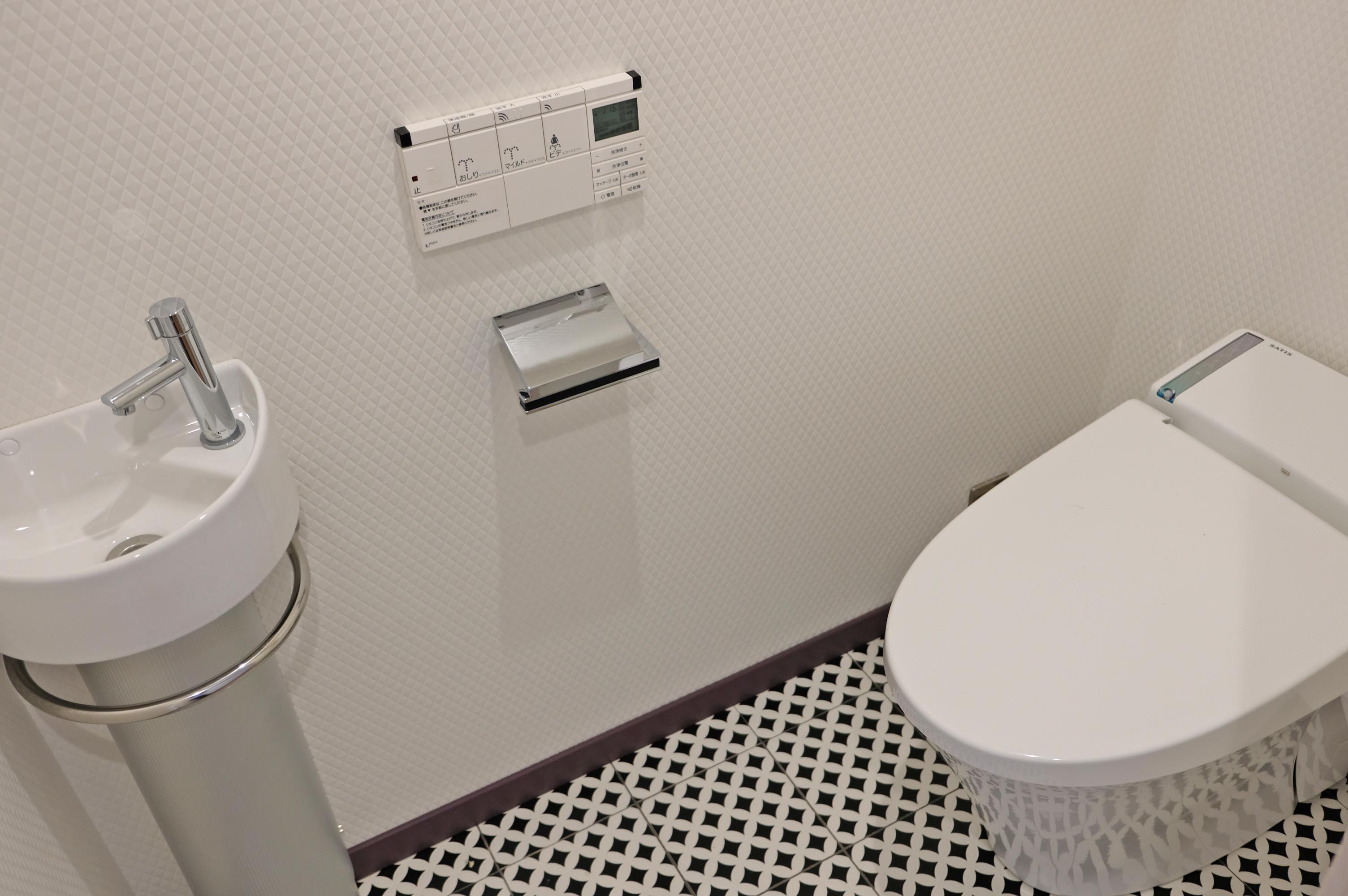 トイレもゆとりあり