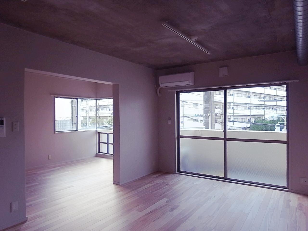隣の洋室をリビング使いするなら結構な広さ。