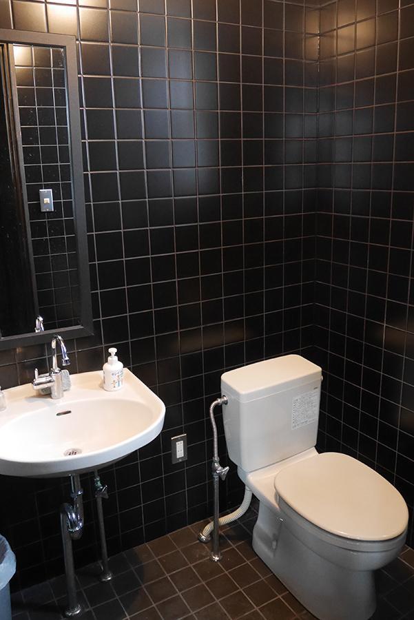 トイレ。(男女別で2箇所有り)