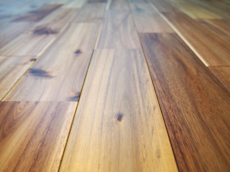 もちろん無垢フローリングです。素材の良さは室内全体の雰囲気を引き立てます。