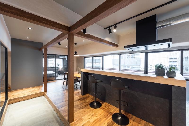 80㎡超えの室内、間取りの設計の秀逸さもあってか、数字以上に広く感じます。