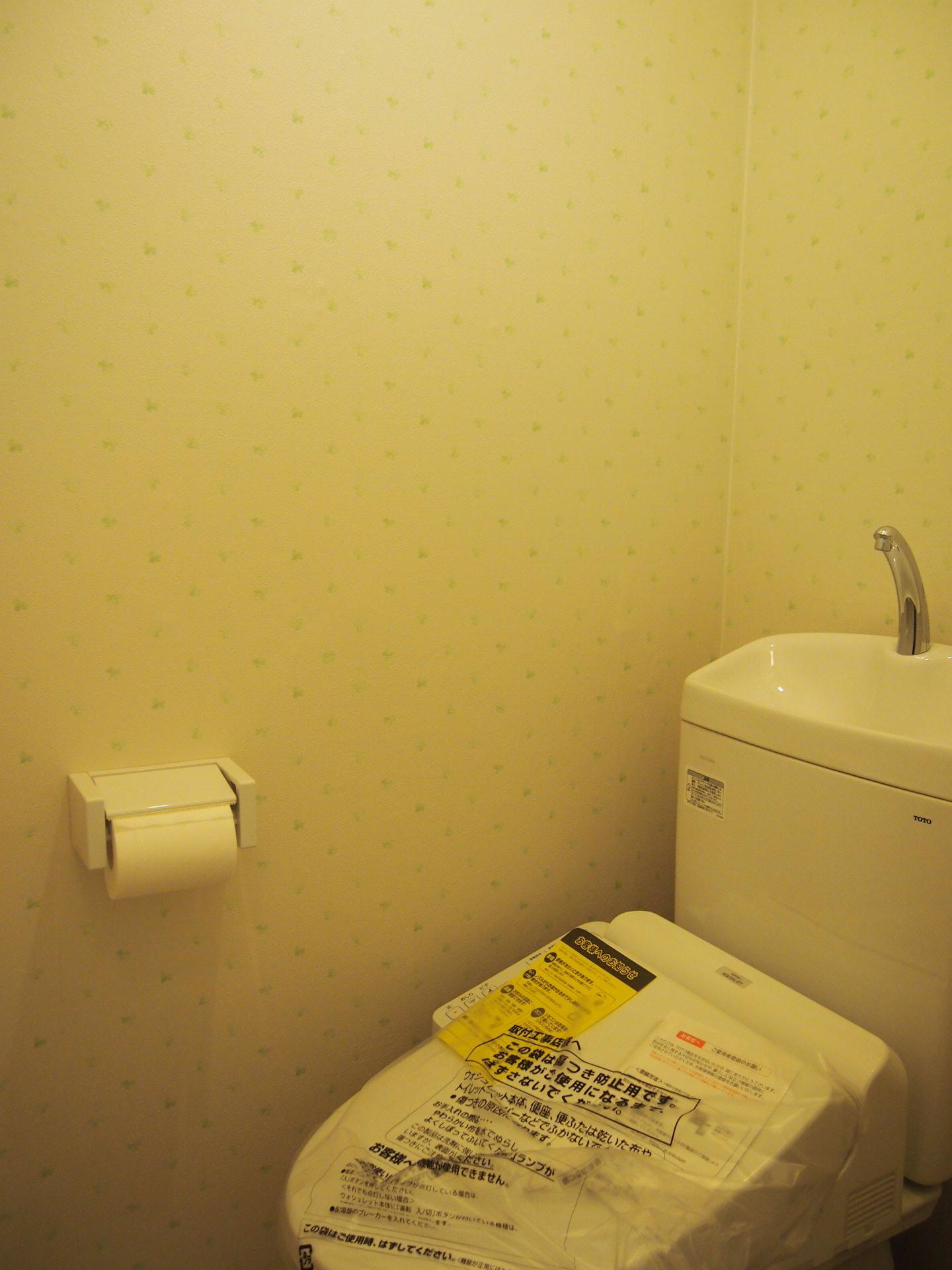 トイレもそう。