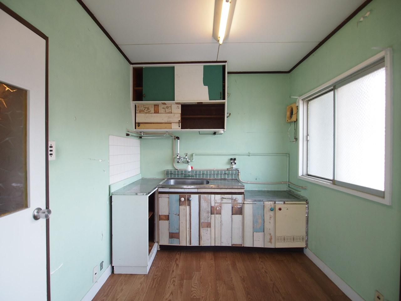 リメイクされたキッチン