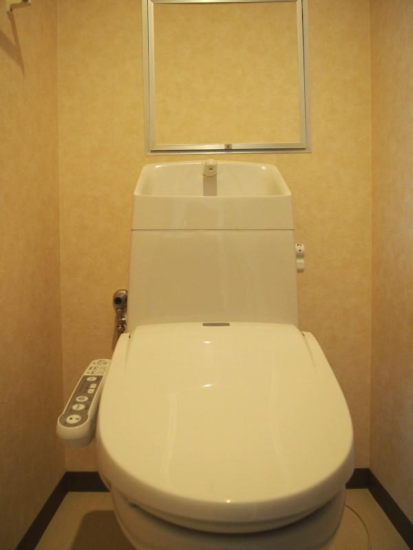 トイレは普通。