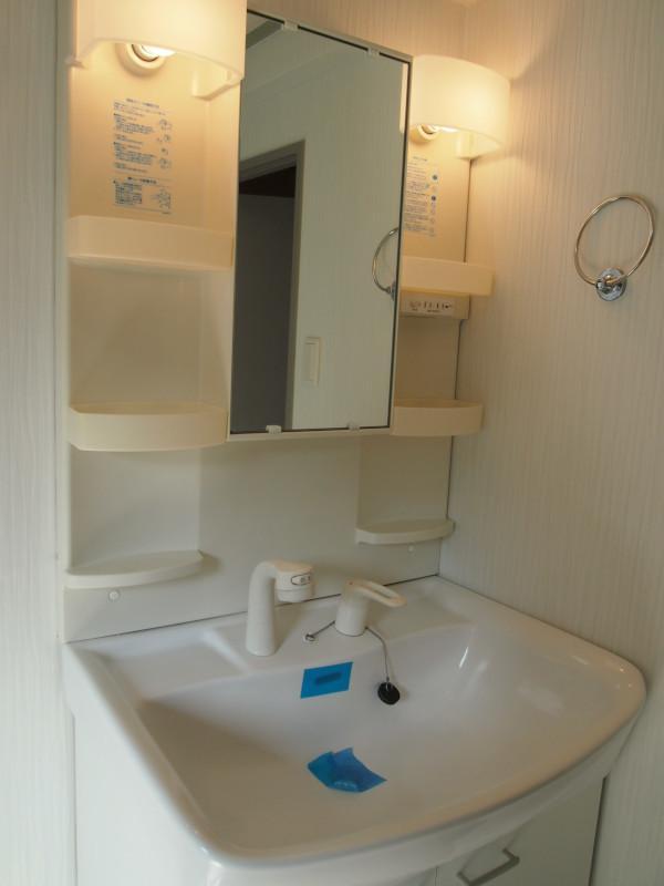 洗面台は普通。