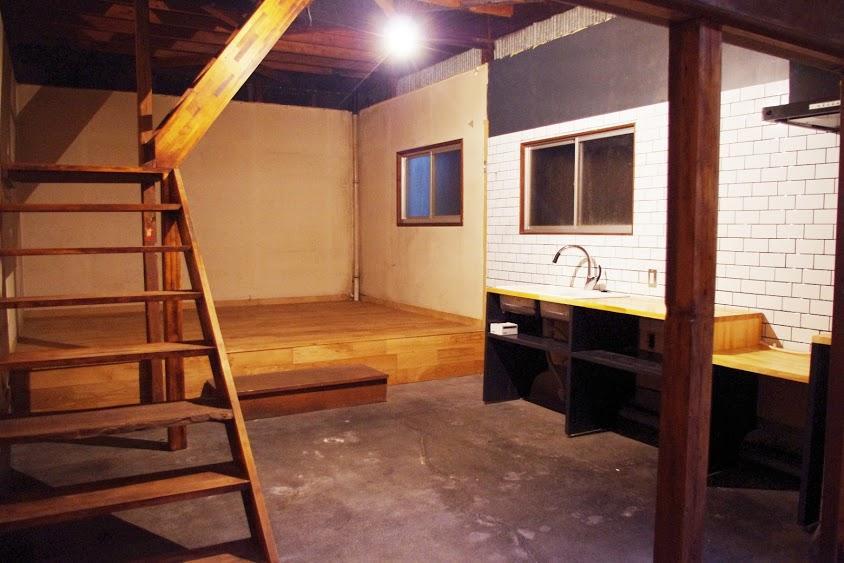 小上がりのスペース(前回募集時の写真です)