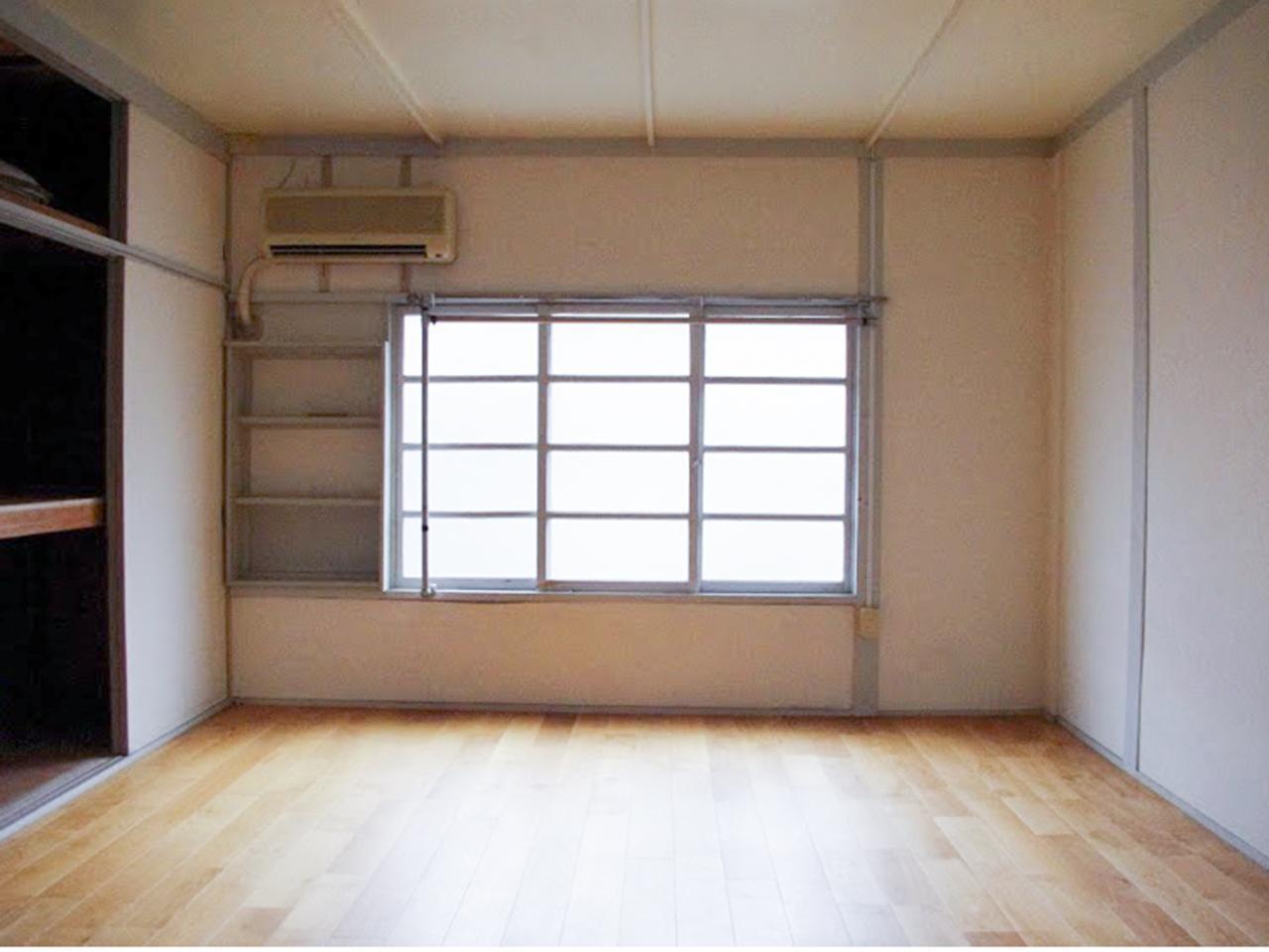 2F洋室は無垢フローリング(前回募集時の写真です)