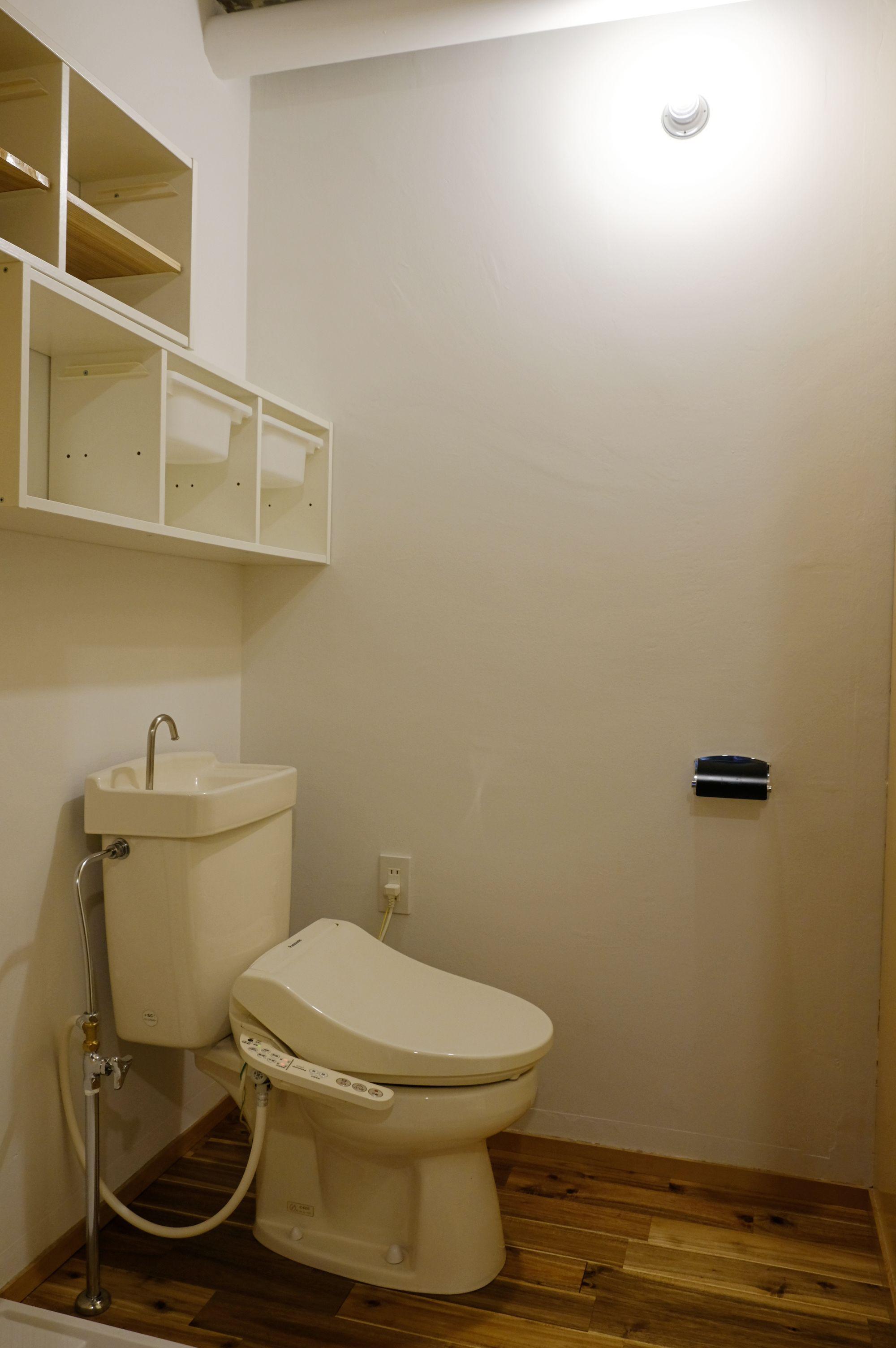 トイレも雰囲気良し。