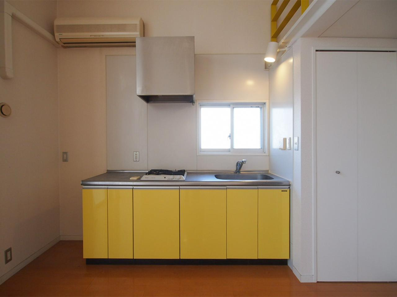 キッチンも使いやすいサイズ