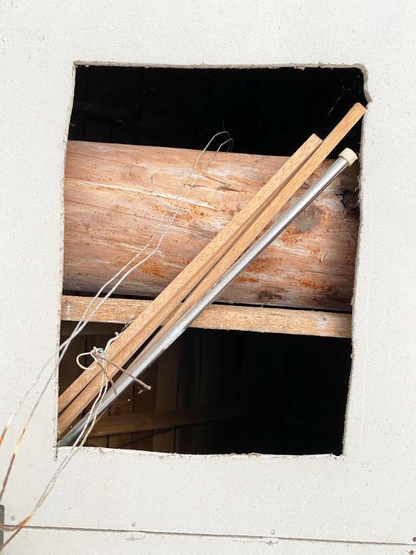 倉庫の天井を取っ払えば、かなりいい雰囲気に
