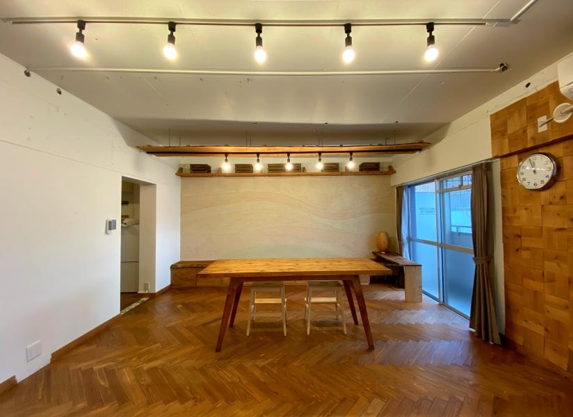 デザイナーのDIY部屋 (福岡市南区大橋の物件) - 福岡R不動産
