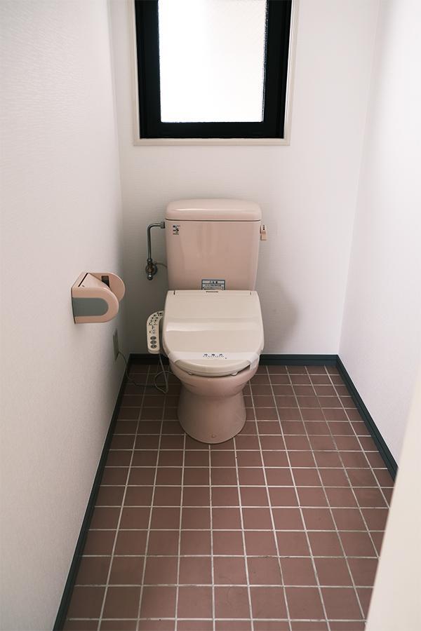 上階トイレ。