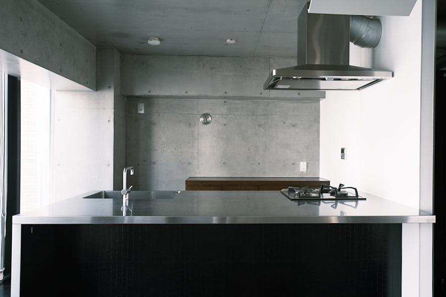 キッチンもいい感じ。