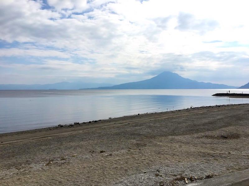 桜島もしっかり見えます。