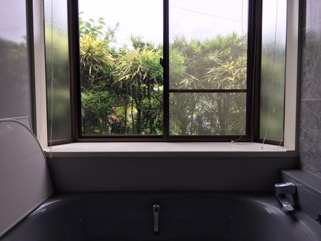 リラックスできる浴室