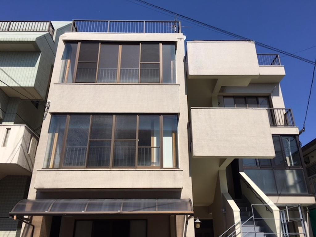 それぞれの階層に玄関があります