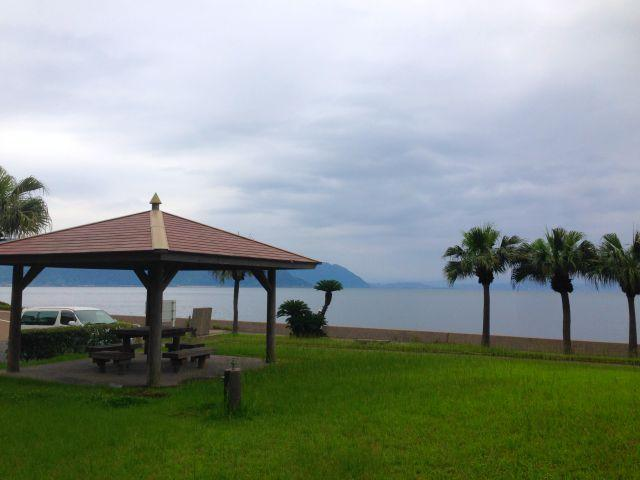 南の島感あふれる近所の公園