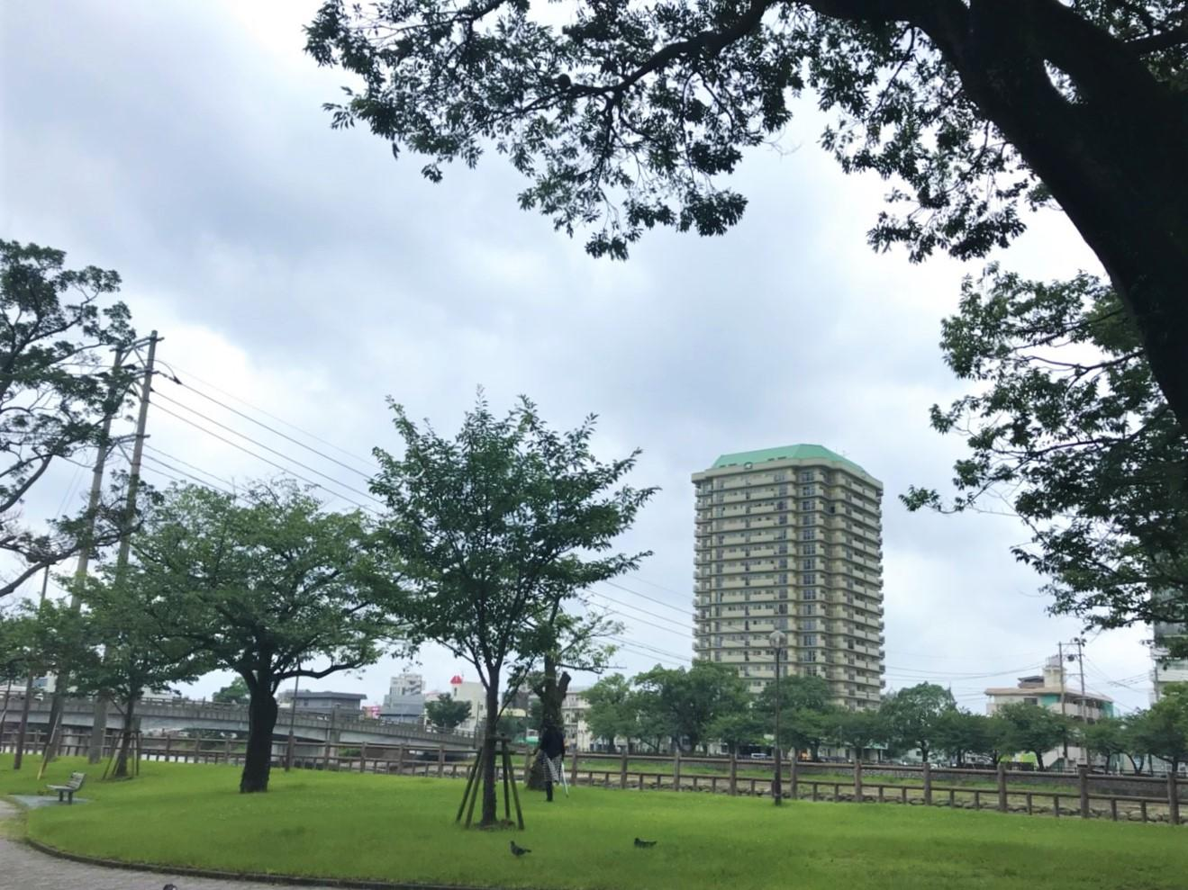 鹿児島では珍しい20階建ての高層マンション