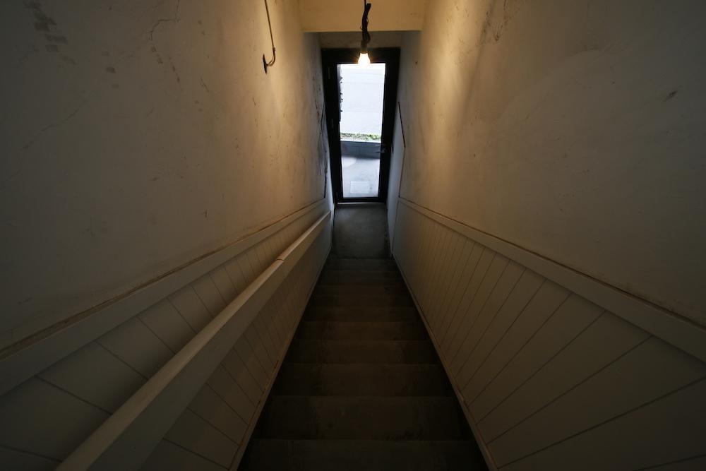2階へ上がる階段部分