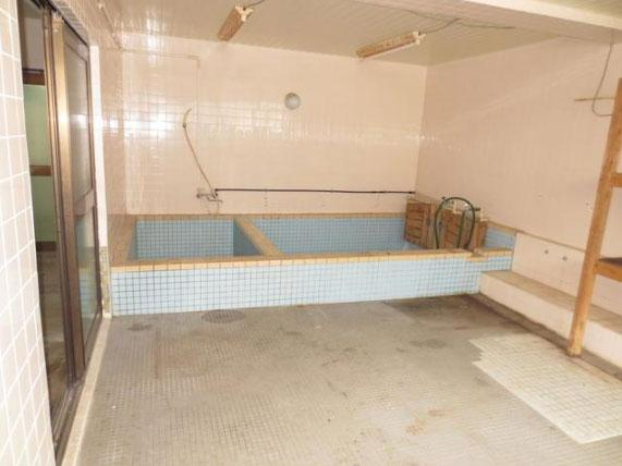 大浴場の名残。現況要確認。