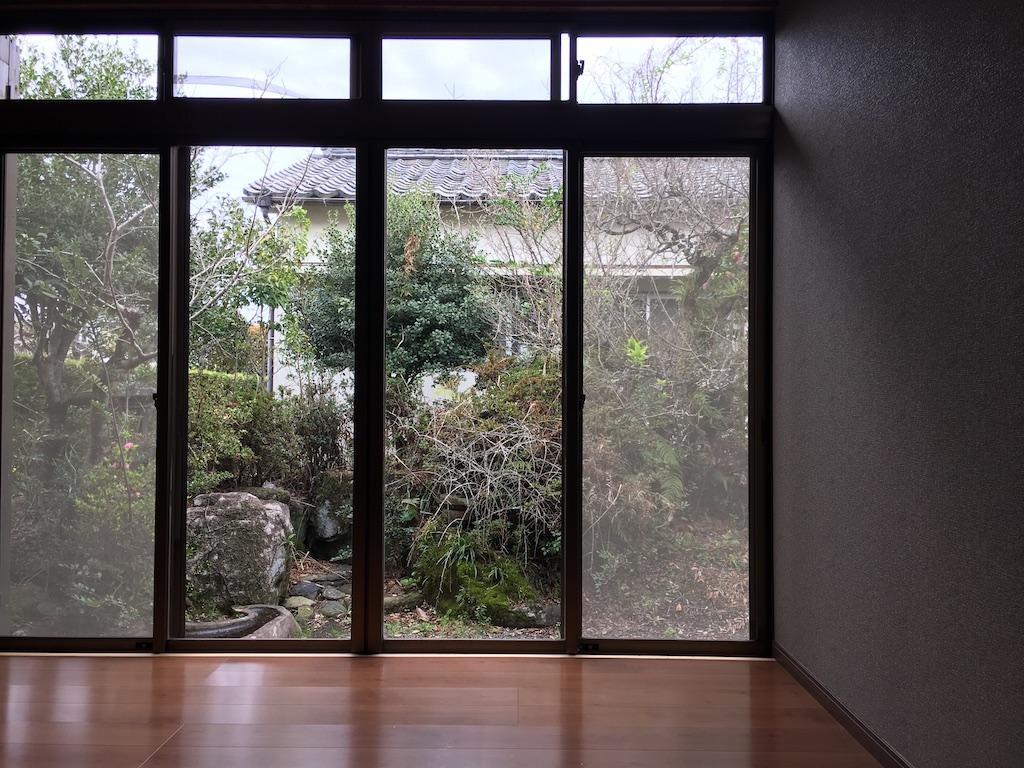 外を眺め、季節の移り変わりを感じたい