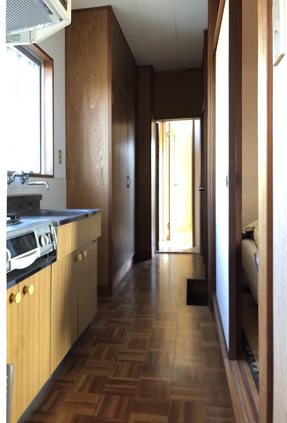 2階廊下にもミニキッチン。プチ2世帯?