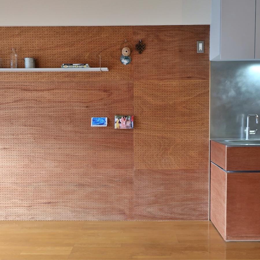 壁をアレンジしたい|でも冷蔵庫がキッチン脇に来ます