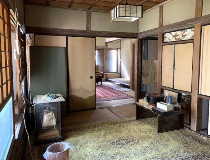 中央の和室