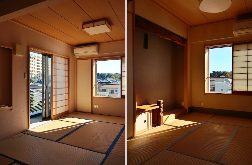和室はコンパクトサイズ 布団で寝てみたい