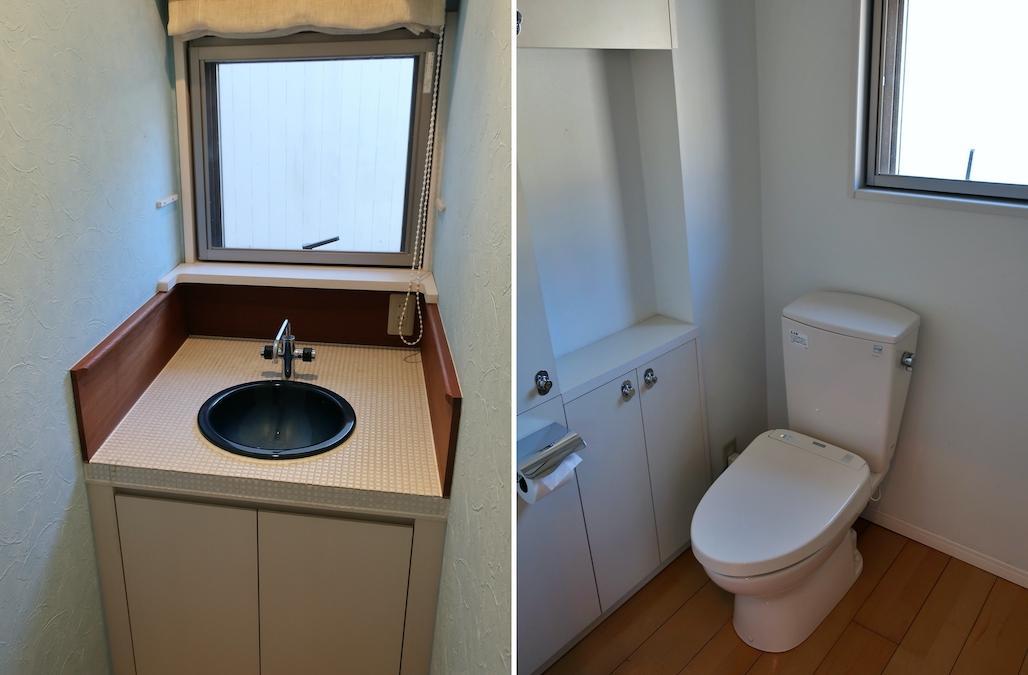 トイレの間接照明は現場でのお楽しみが隠されています