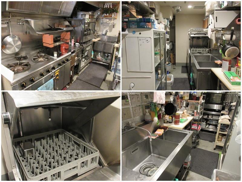 キッチンの設備(現地にてご確認を)