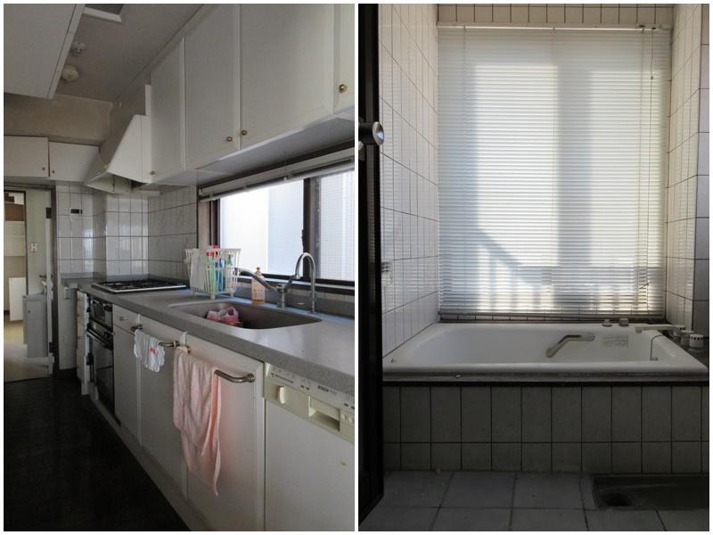 2階|キッチンと浴室