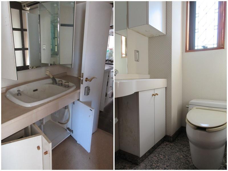 2階洗面台|3階のトイレ
