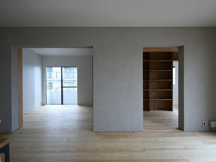 リビングの隣の洋室2部屋
