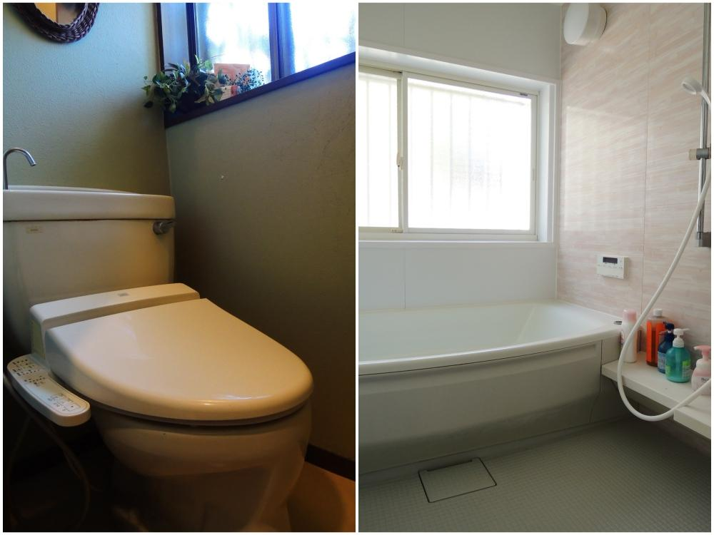 トイレ|浴室はゆったりサイズ
