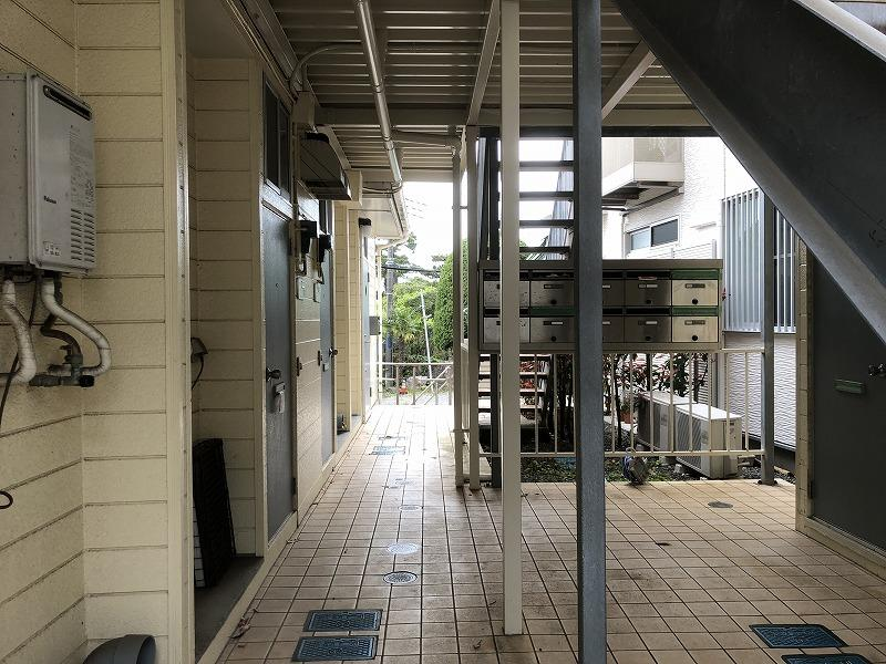 昭和の建物1階部分