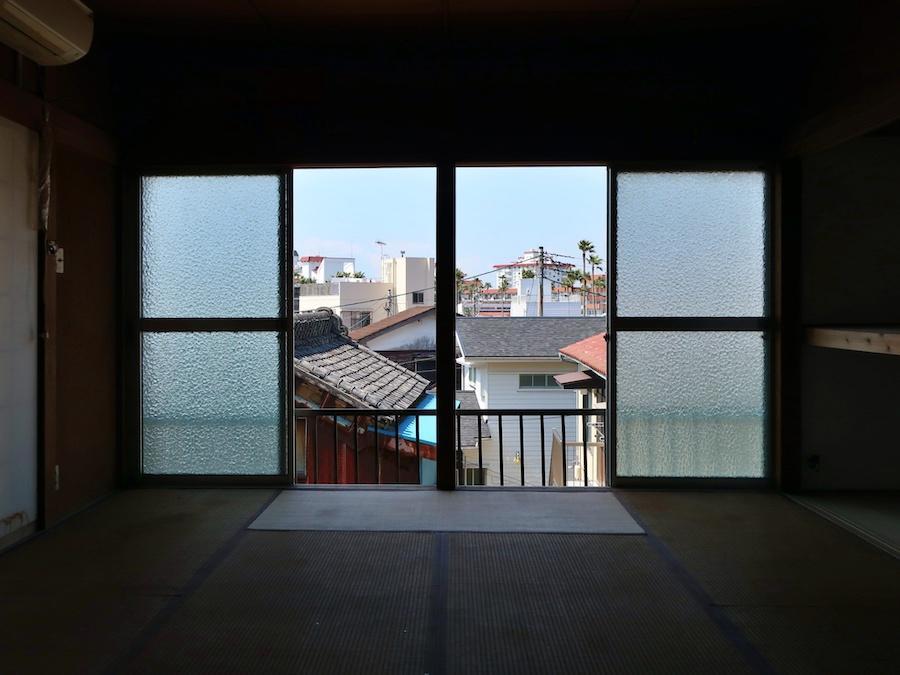 2階室内からの眺望