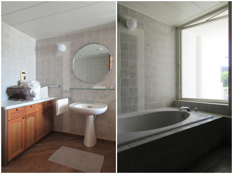 コスモミロスといえば、この洗面と浴室