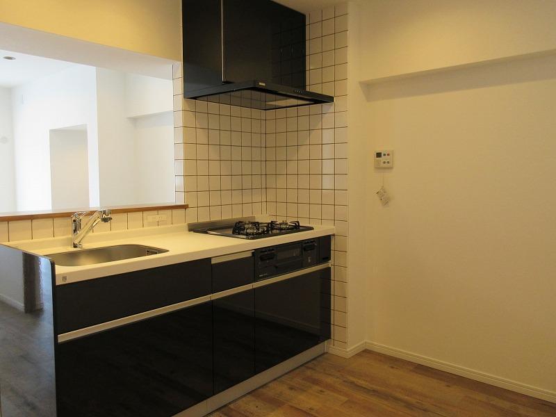 キッチンは、ちょうどいい広さ