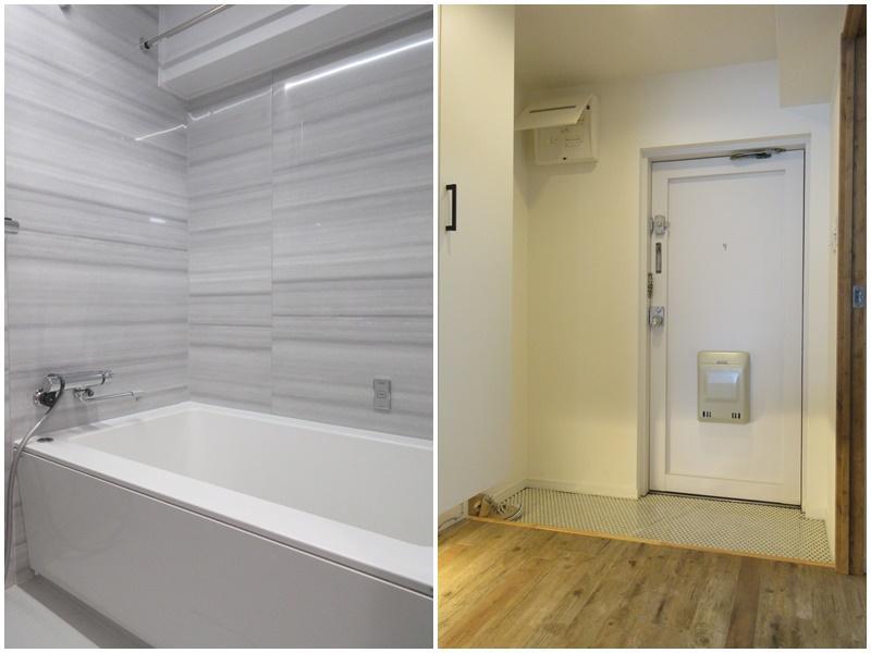 浴室(追い炊きはなし)|玄関は割と広い