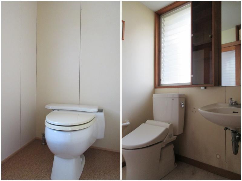 トイレは1階と2階に