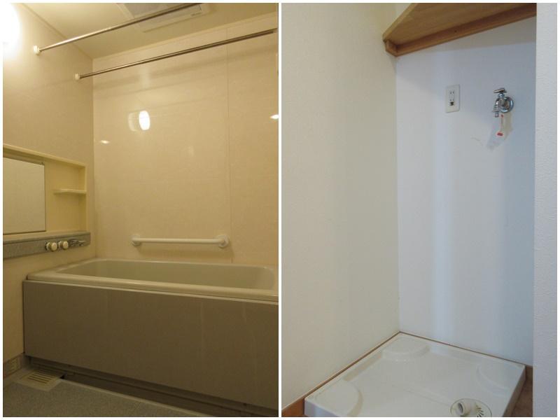 浴室|洗濯機置き場