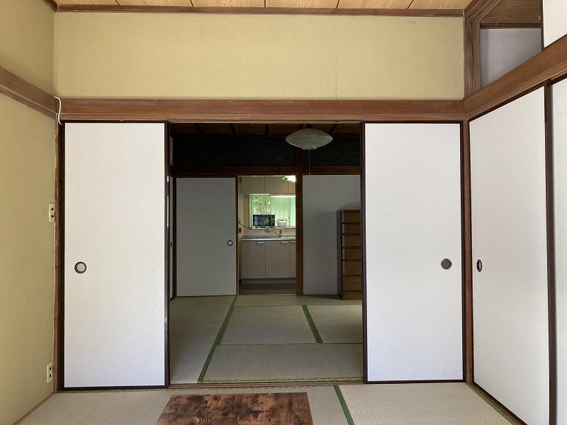 1階の和室続き間