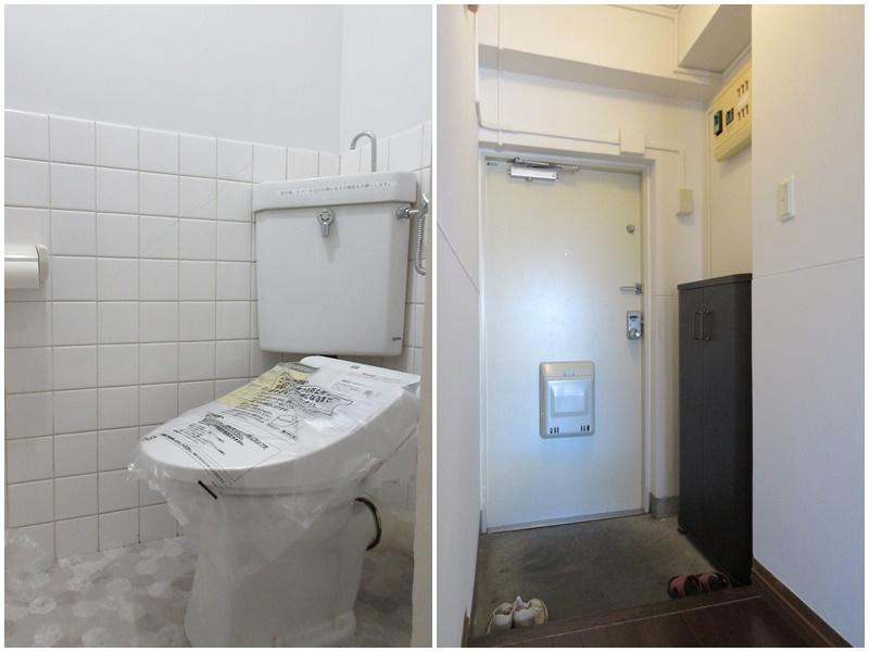 トイレ 玄関まわり